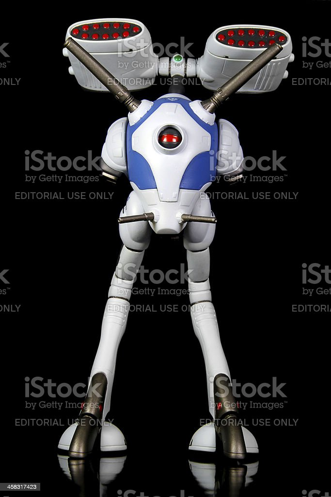 Military Osterich stock photo