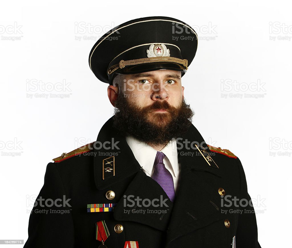 Military Personnel stock photo