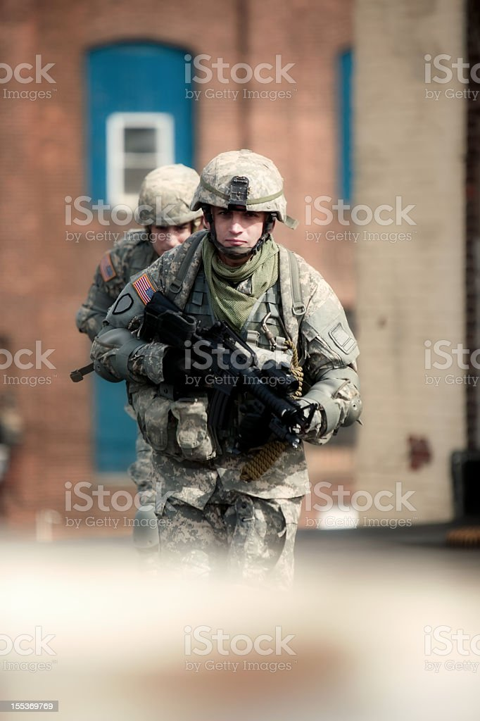 Military royalty-free stock photo
