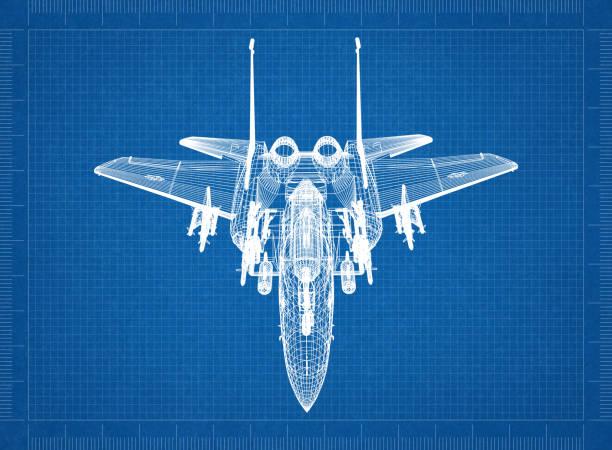 Militärflugzeug – Foto