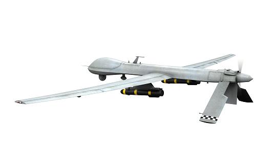 istock Military Predator Drone 486138315