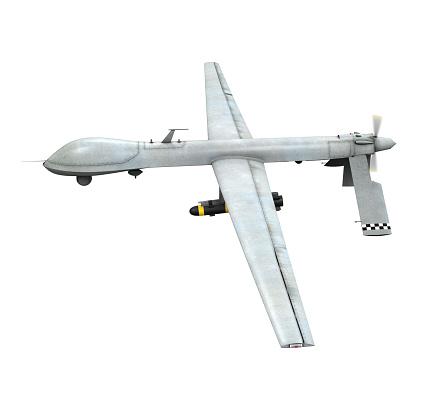 istock Military Predator Drone 486138319