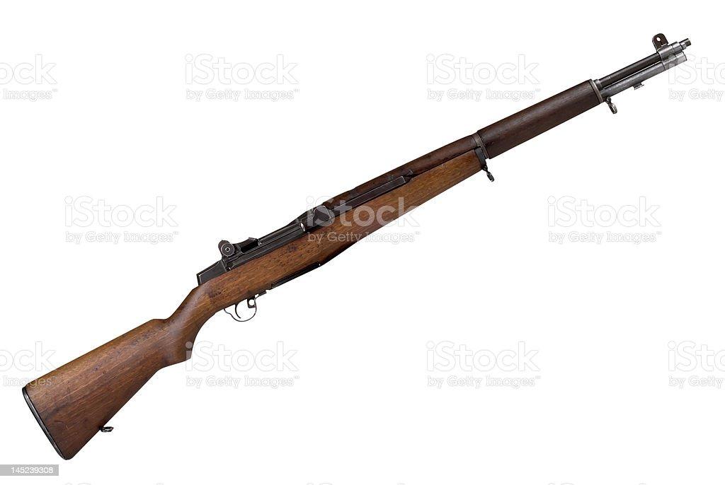 Military Rifle stock photo