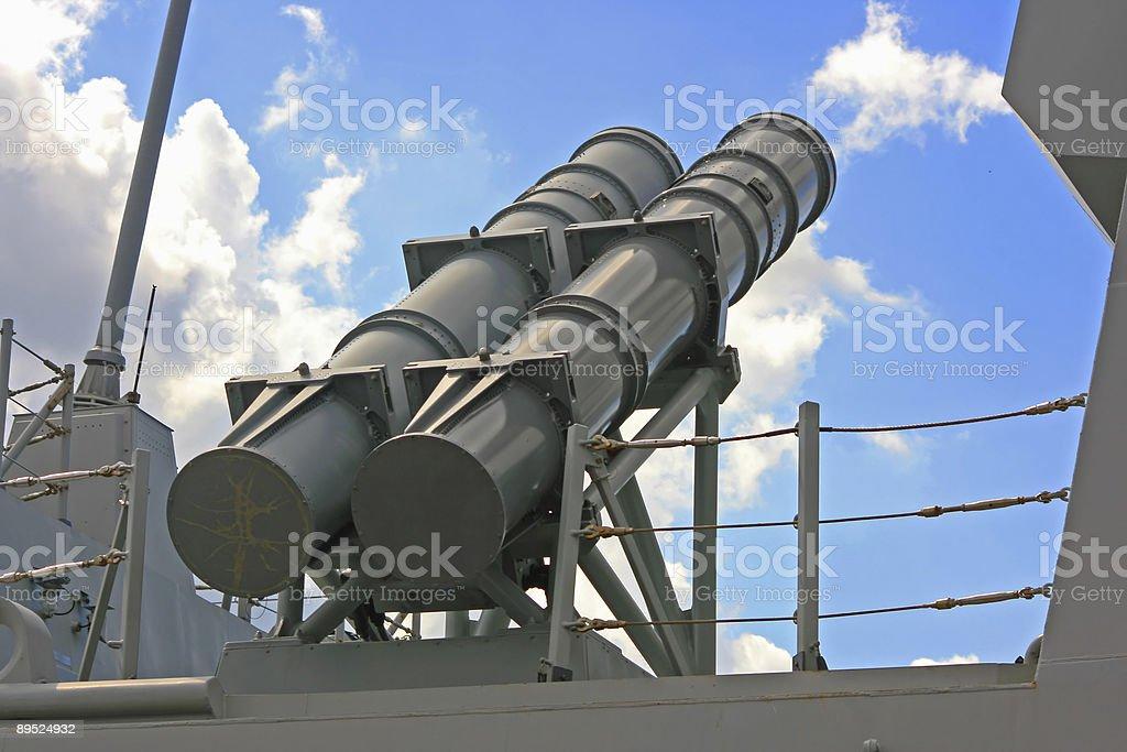 Military Rocket royalty-free stock photo