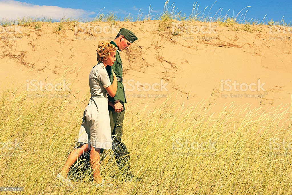 WW2 Militär Romantik – Foto