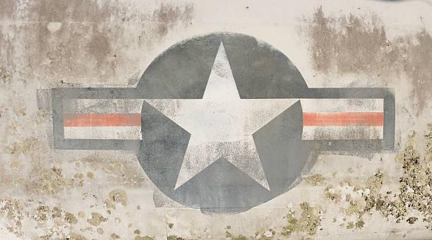 wwii militär roundel (xl - sternmoos stock-fotos und bilder