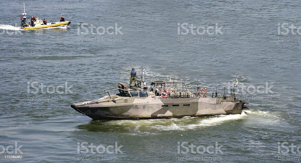 Military Ship royalty-free stock photo