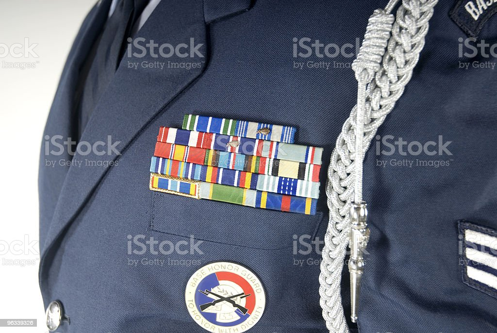 Military Stripes royalty-free stock photo
