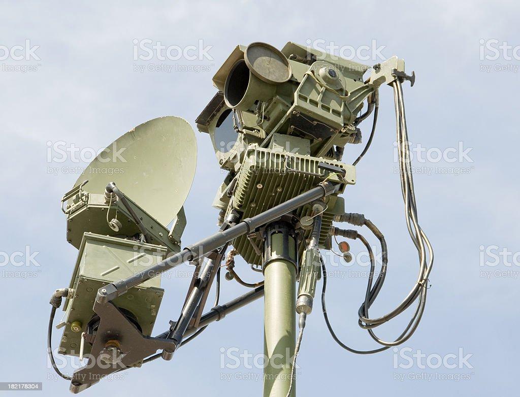 Military Surveillance royalty-free stock photo