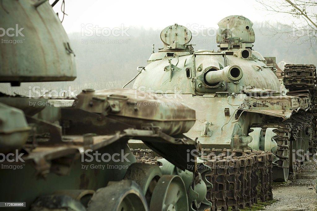 Military Tank royalty-free stock photo