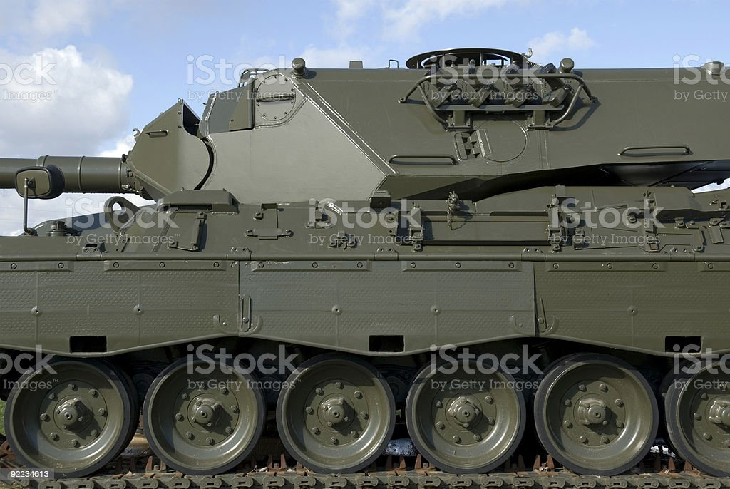 Military Tank royalty-free stock photo