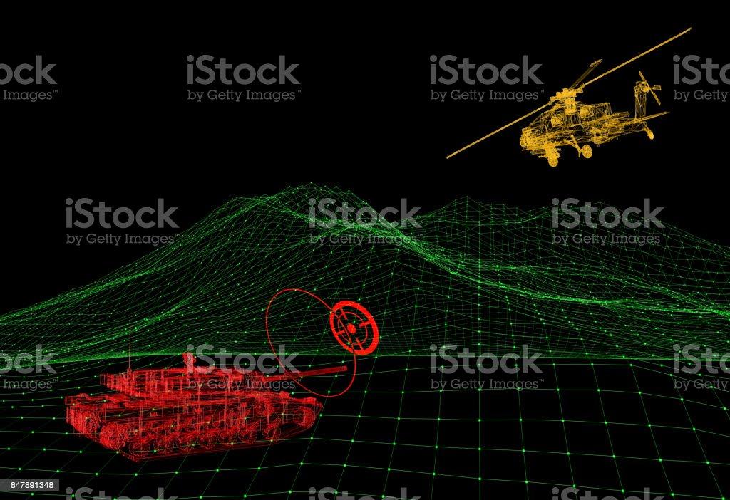 Militärisches Ziel-Analyse – Foto