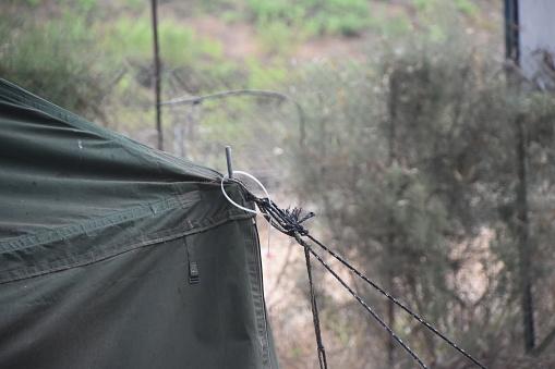 Militärzelt Stockfoto und mehr Bilder von Camping