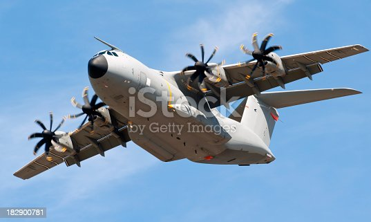 The new Airbus A-400m military transport aircraftTo see my other aviation images please click the image below