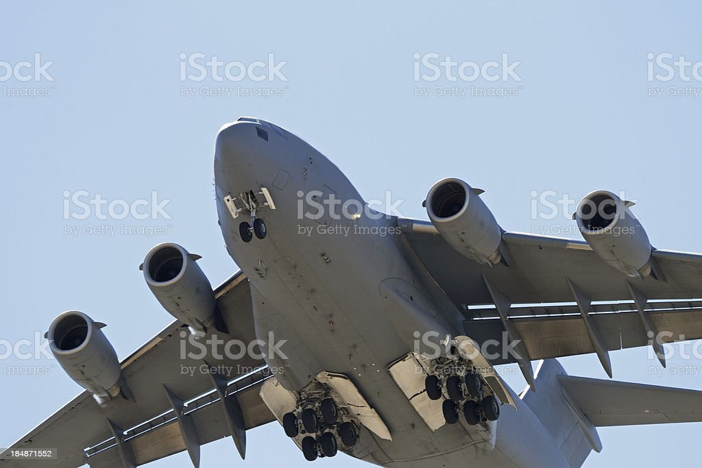Military Transport Jet royalty-free stock photo