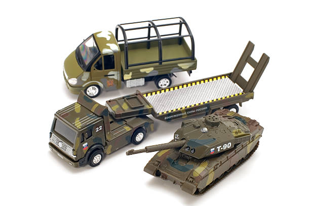 military transport stock photo