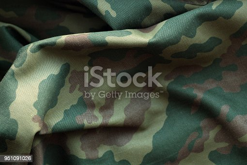 istock Military uniform pattern. 951091026