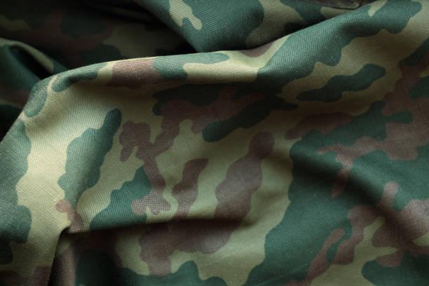 군사 유니폼 패턴입니다. - 위장 뉴스 사진 이미지