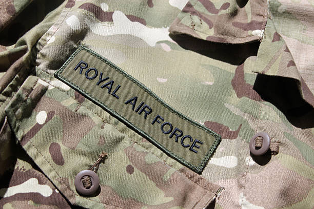 raf military uniform - uk military stock photos and pictures