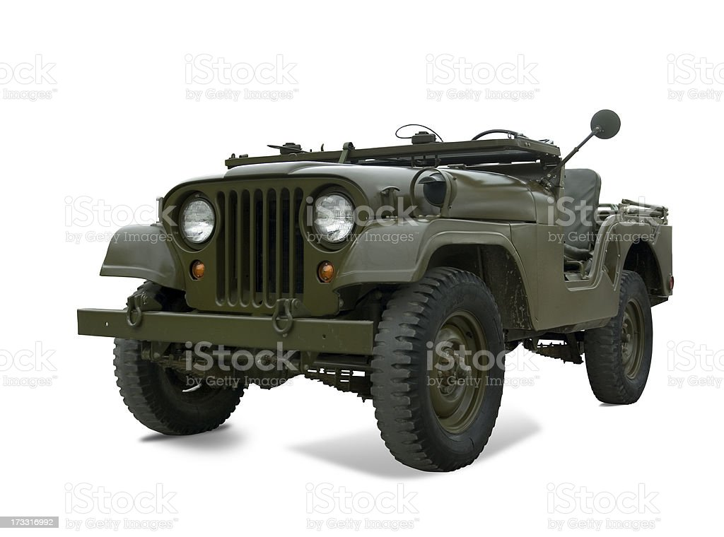 Military Vehicle royalty-free stock photo