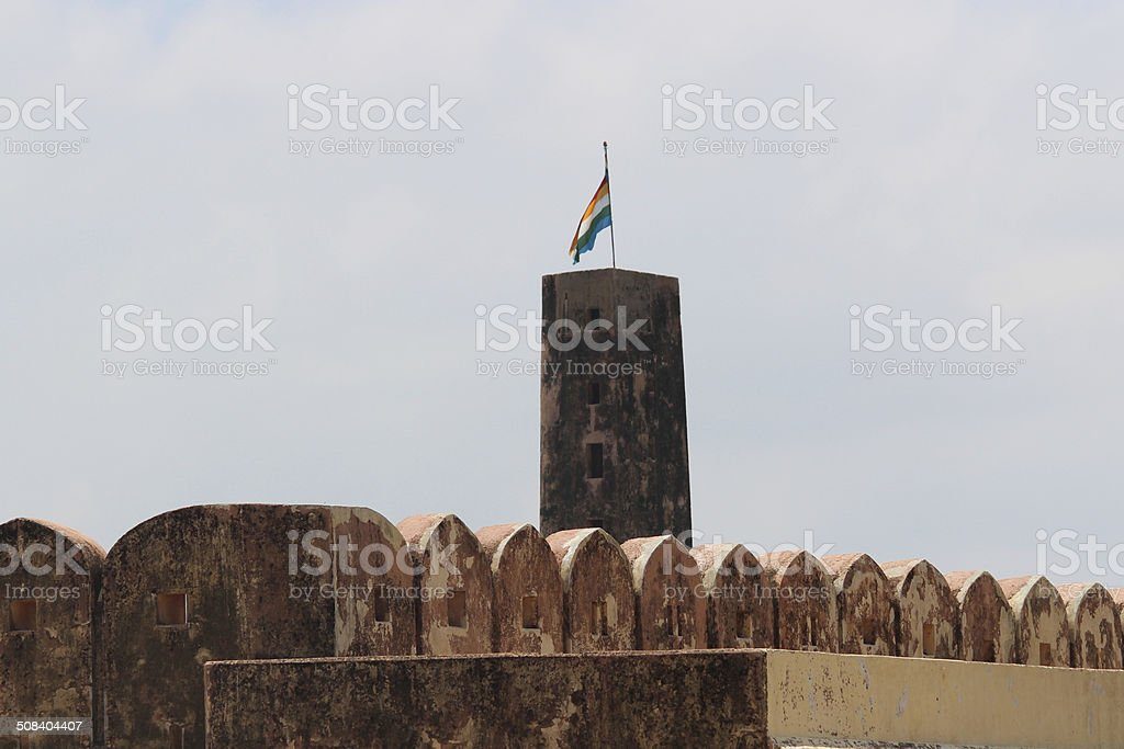 Military Watch Tower royalty-free stock photo