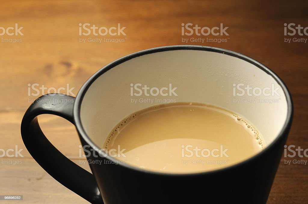 Milk and Coffe royalty-free stock photo
