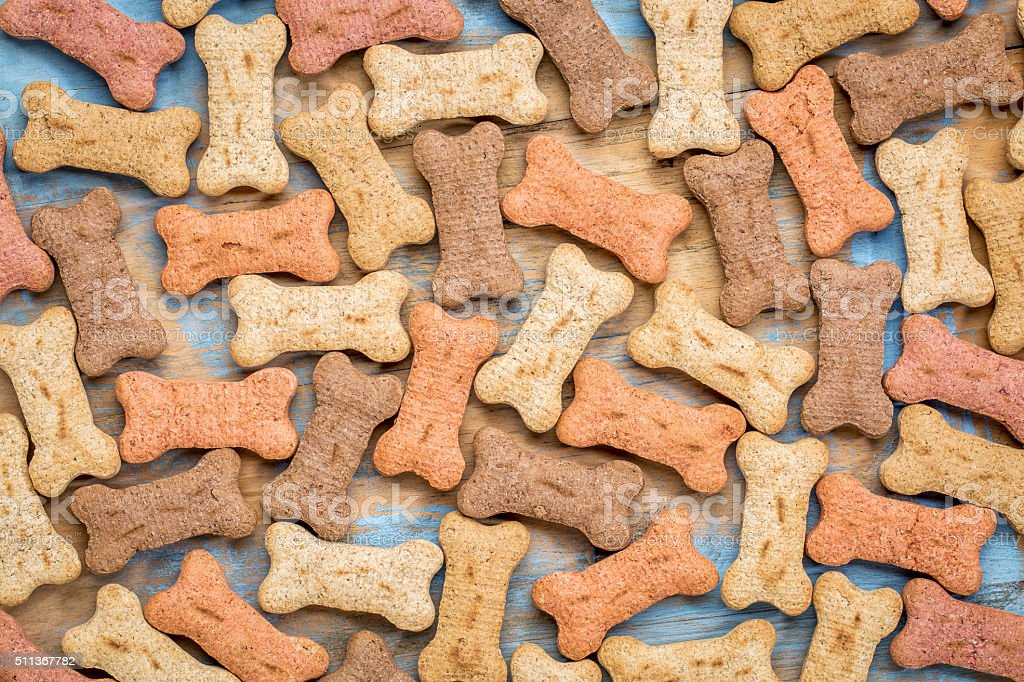 milk bones background stock photo