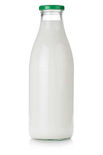 milk bottle - milk bottle stock photos and pictures