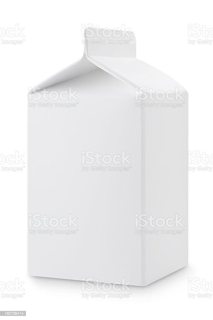 Caixa de leite - foto de acervo