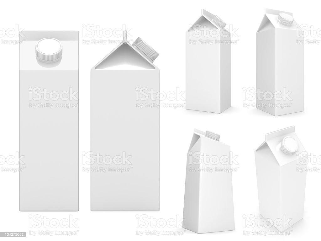 Boîtes de lait - Photo
