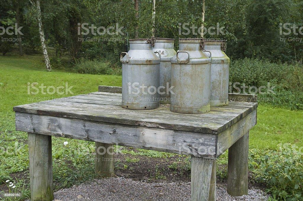 Milch Dosen Lizenzfreies stock-foto