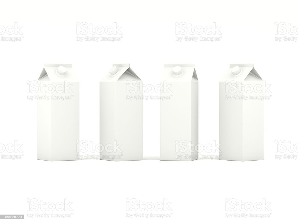 cartons de lait - Photo