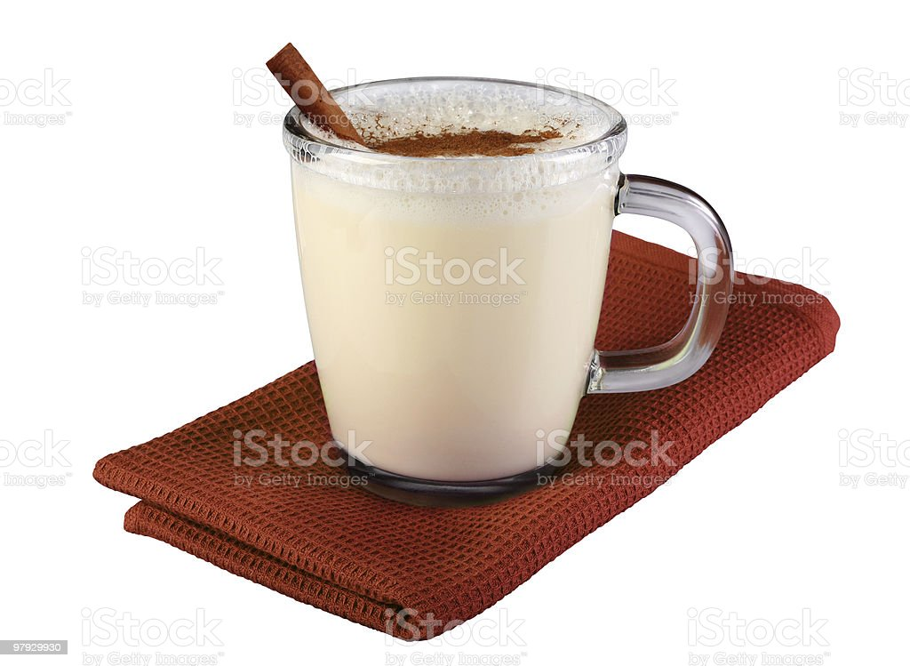 MIlk cocktail royalty-free stock photo