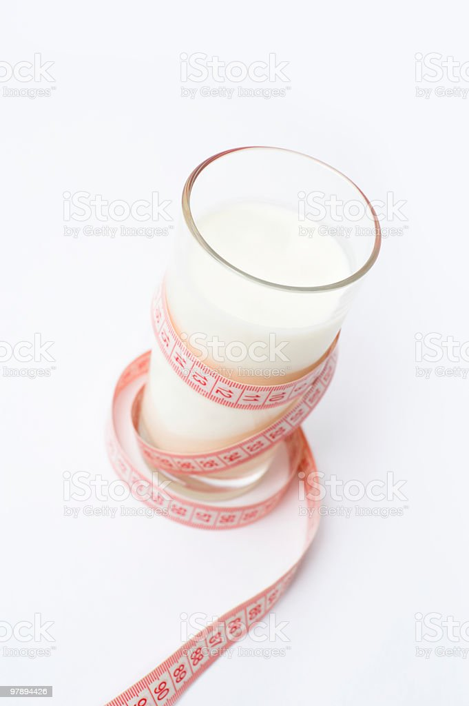 milk diet royalty-free stock photo