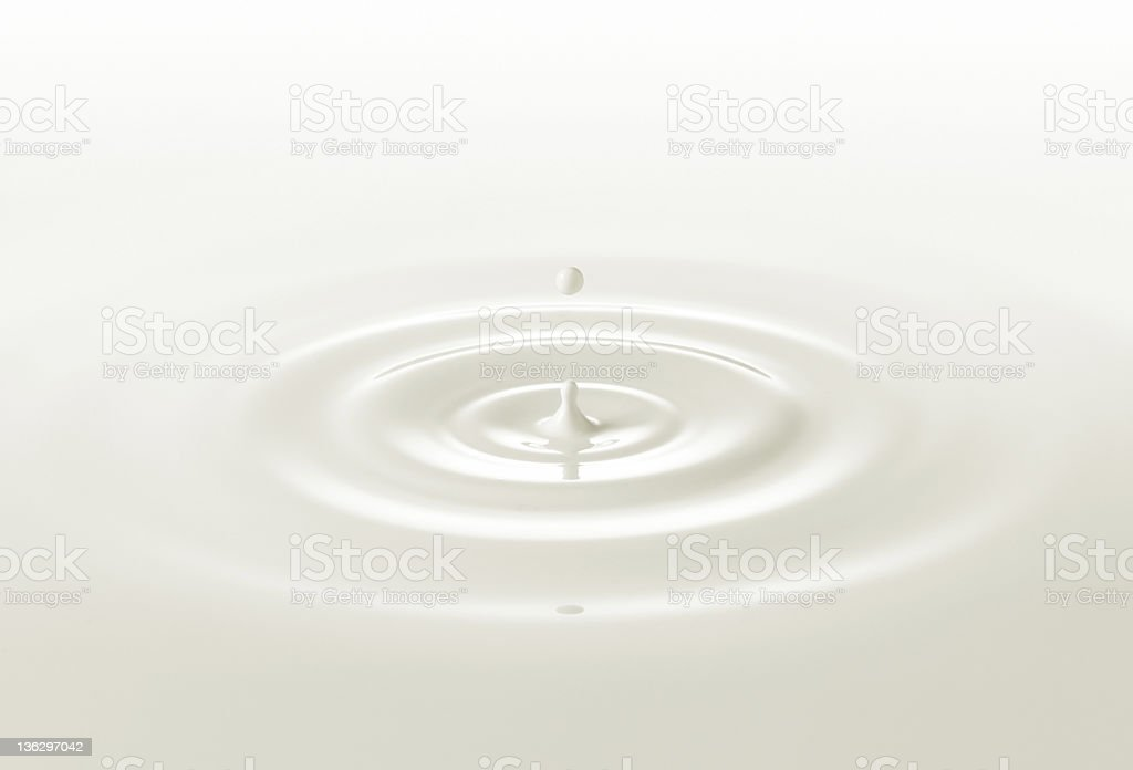 milk drop stock photo
