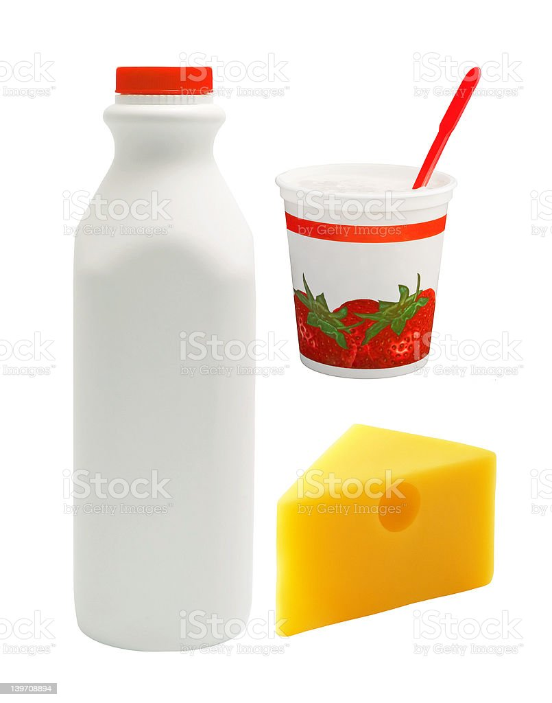 Milk group royalty-free stock photo