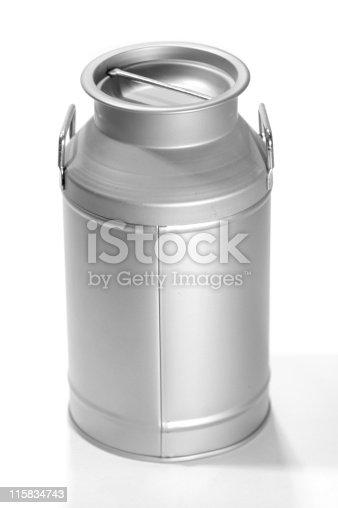 A model of an old milk jug