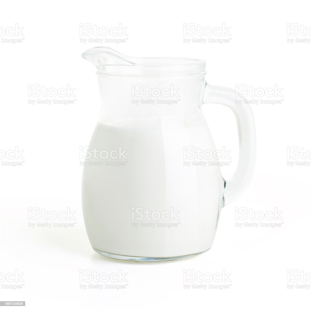 Milk Jug stock photo