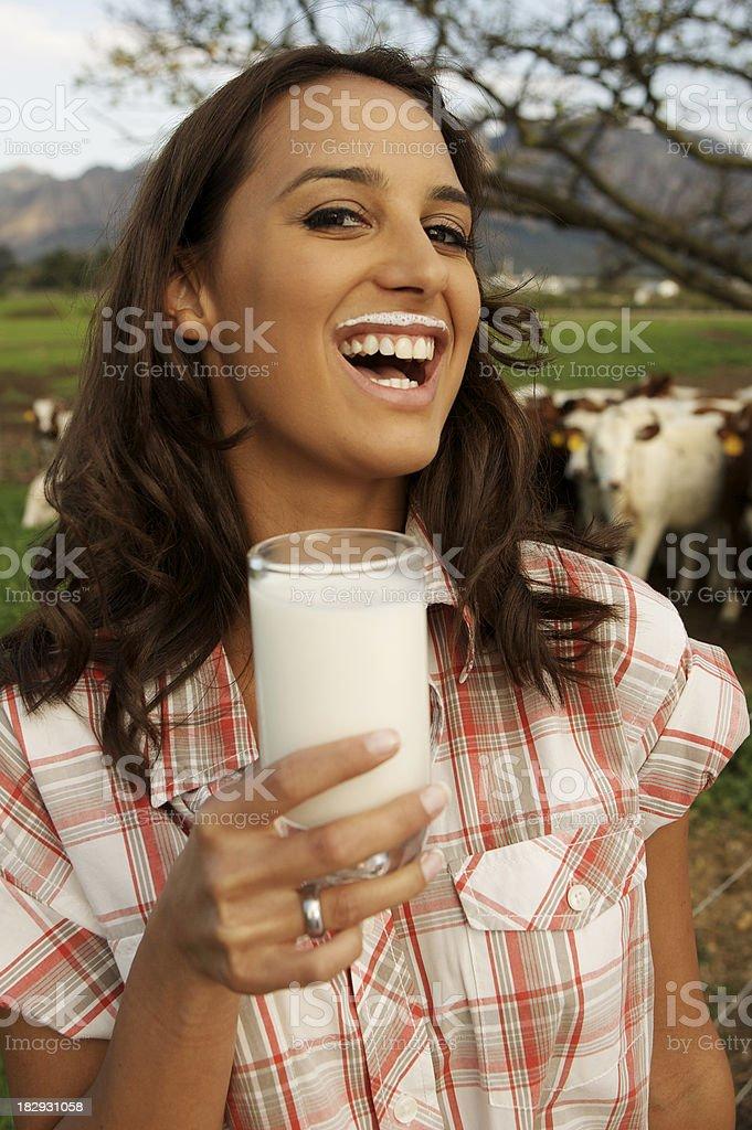 Milk Maid stock photo