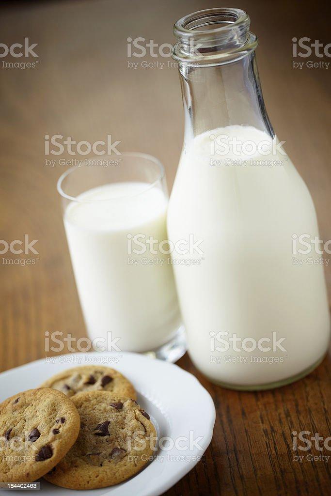 Milk N Cookies royalty-free stock photo
