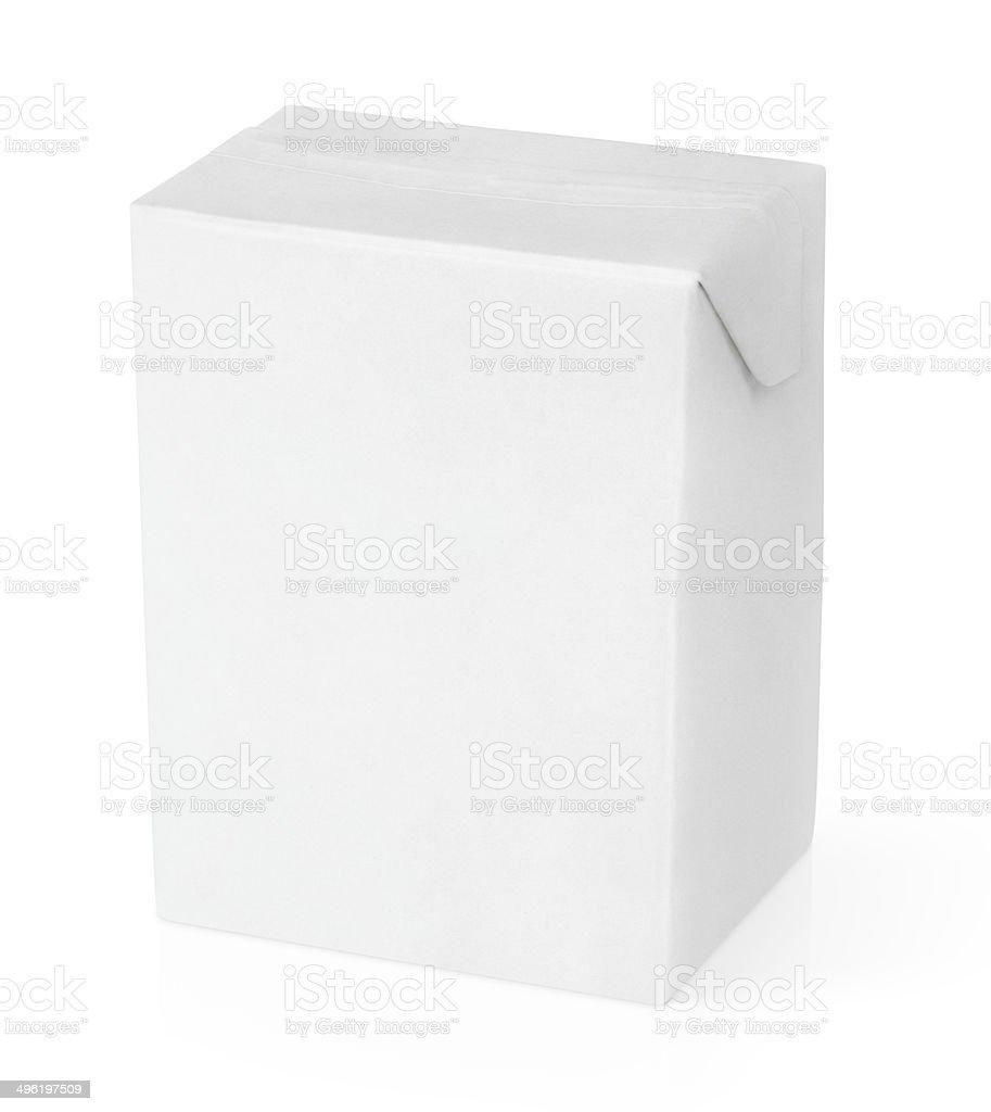 Embalagem cartonada de leite ou suco packag - foto de acervo