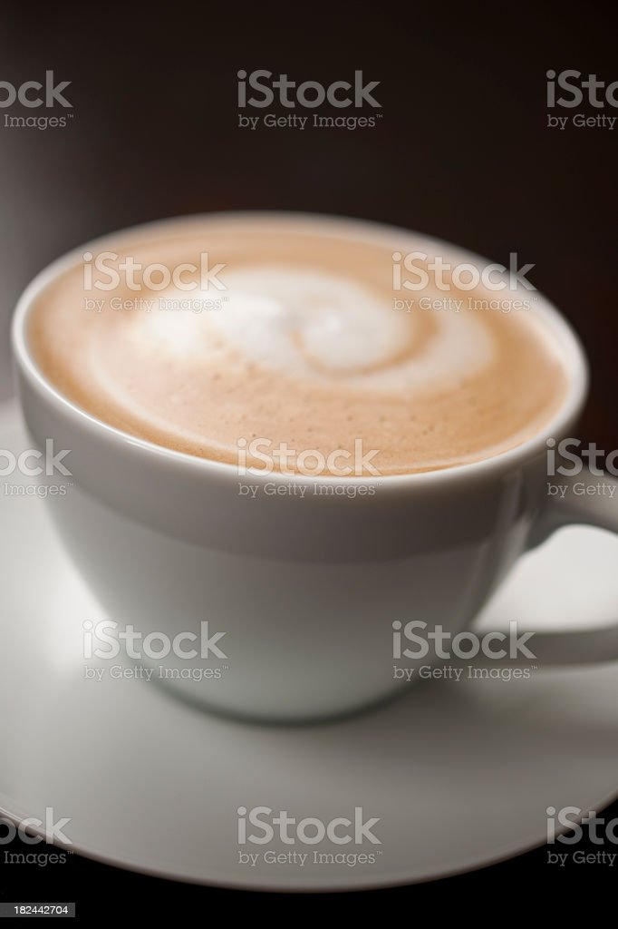 Latte royalty-free stock photo
