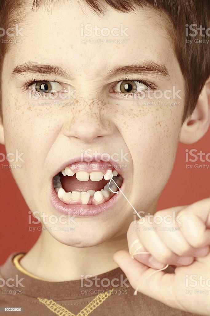 milk tooth royalty-free stock photo