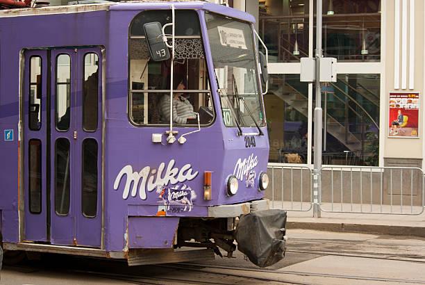 Milka tramway stock photo