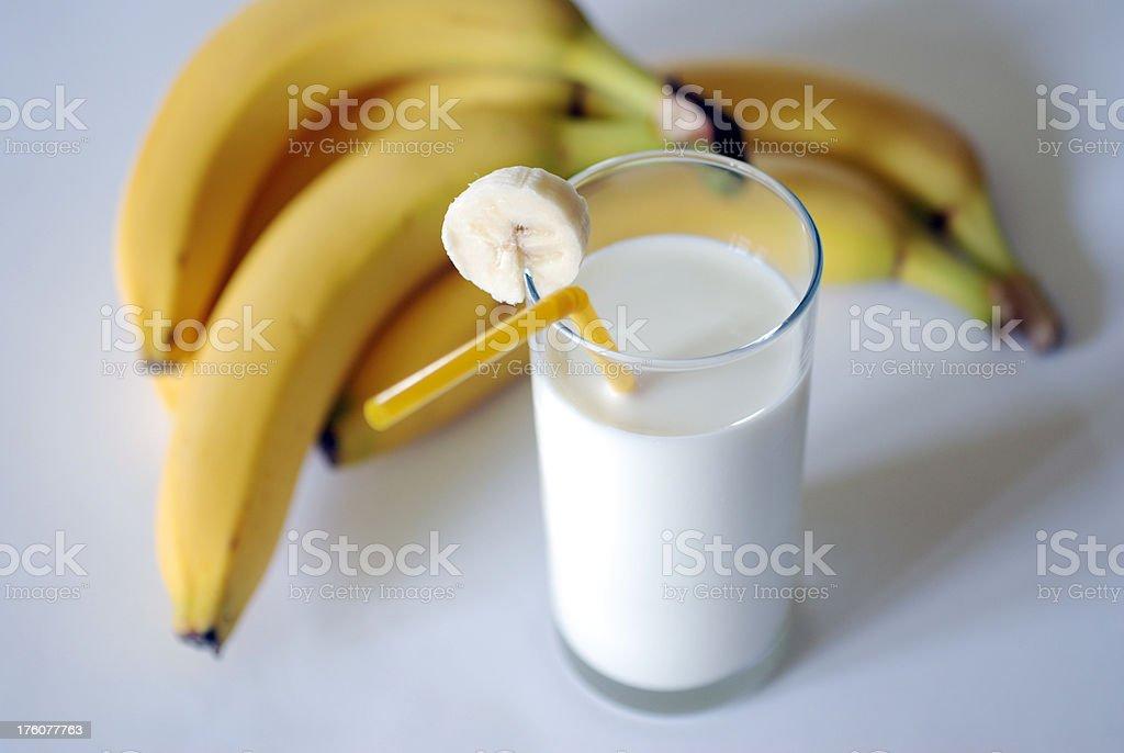 Milkshake stock photo