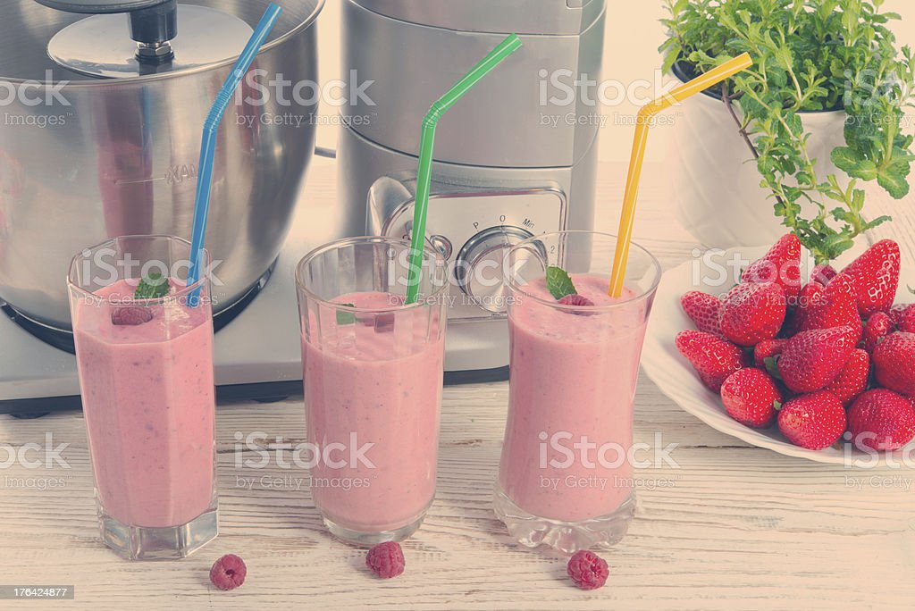 Milkshake royalty-free stock photo