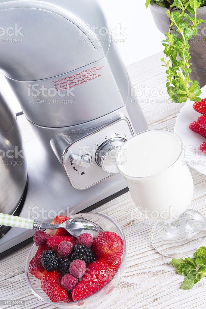 Milkshake royalty-free stock photo