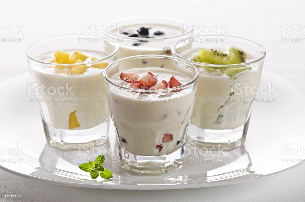 Milkshakes royalty-free stock photo