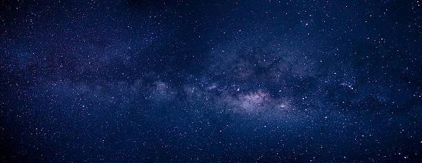 Milky Way and Stars at Atacama Desert Estrelas brilhantes em São Pedro de Atacama panoramic stock pictures, royalty-free photos & images
