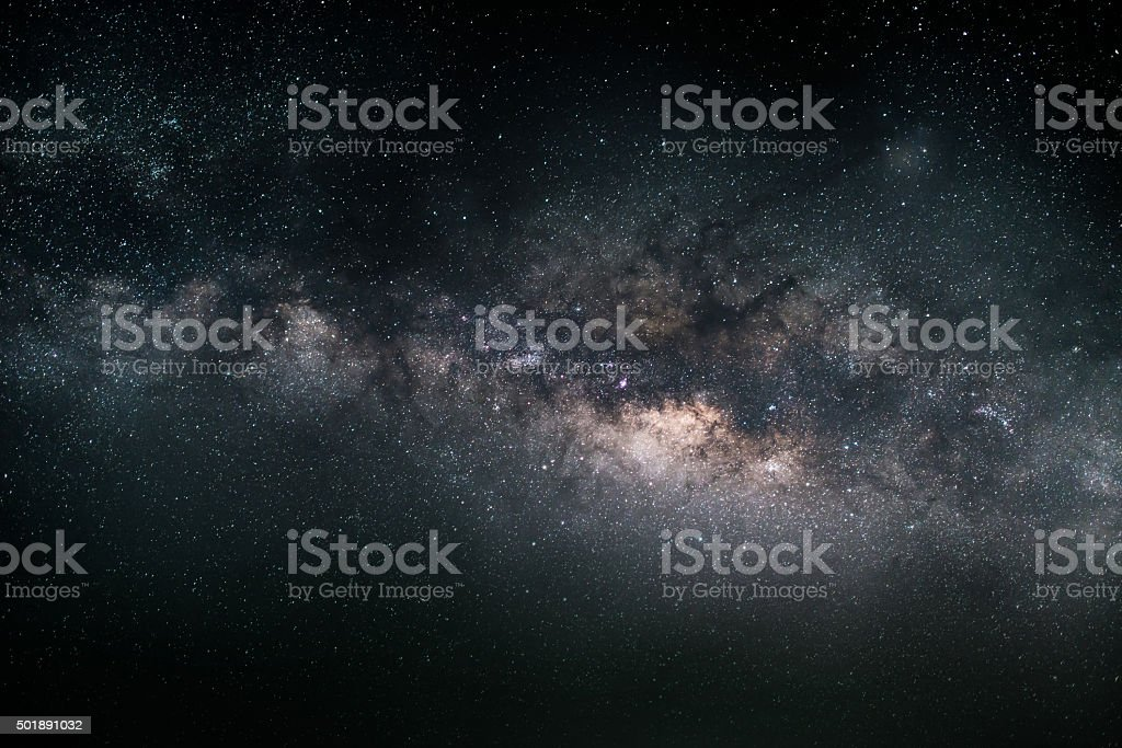 milky way background 2015 stock photo